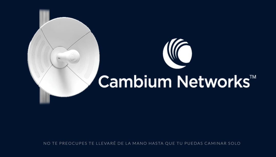 ¿ Por qué y Cuándo Deberías Usar Cambium Networks?